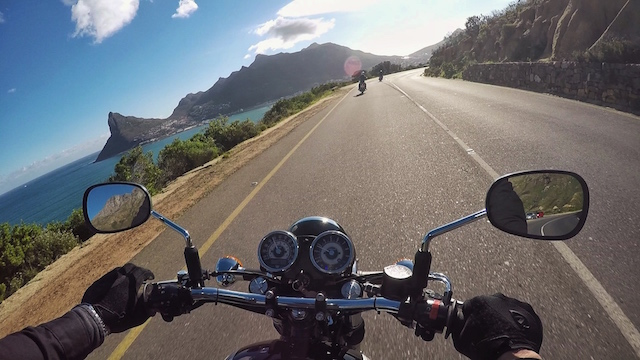 Charl's perspective of Hout Bay, below Chapmans Peak