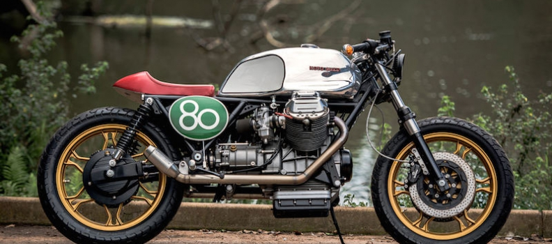 TRICOLORE TREAT: Moto Guzzi Built By Wolf Moto Featured on Bike Exif