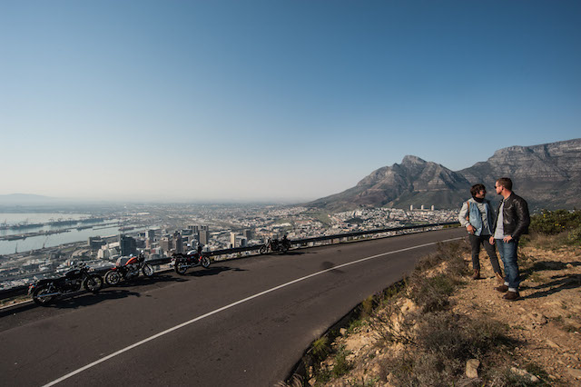 Signal hill, views of Cape Town city